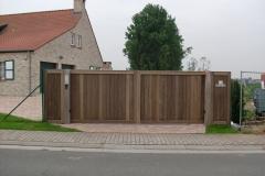 Houten Poort 0091