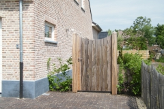 Houten Poort 0157